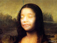 Anya as monalisa's face
