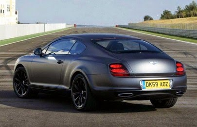 2015 Bentley Continental Rear View