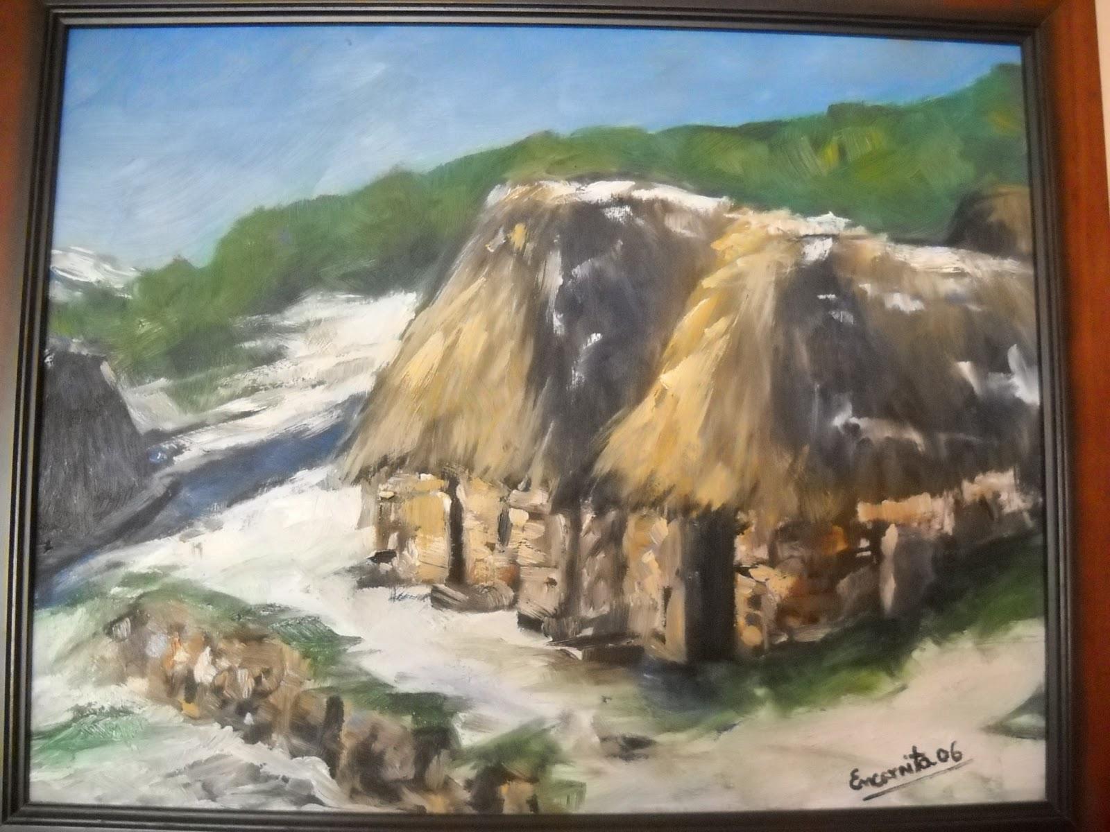 Paraiso galletas paleta de pintor y cuadros - Pintores en asturias ...