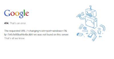 Google crashed