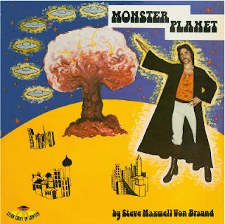 STEVE MAXWELL VON BRAUND-MONSTER PLANET, LP, 1975, AUSTRALIA
