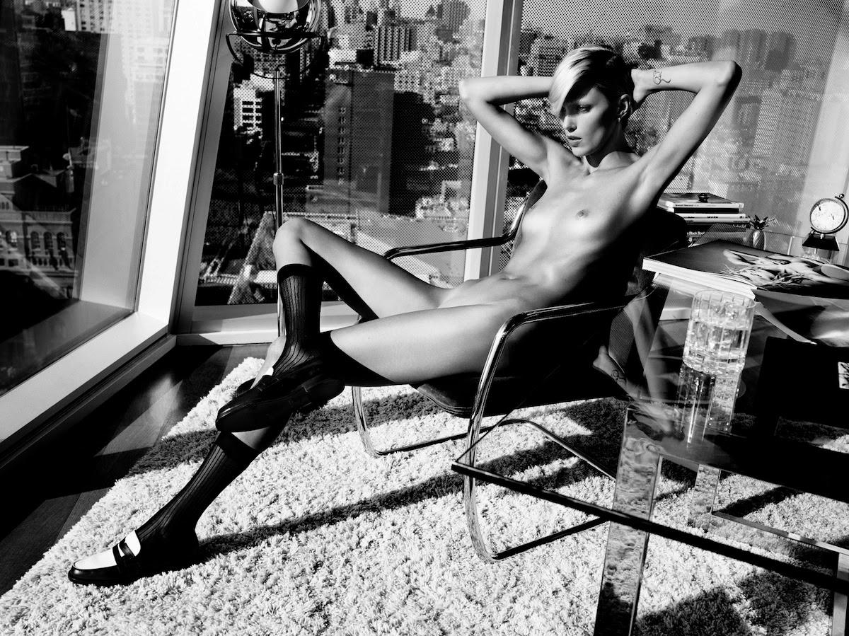 Naked Anja Rubik