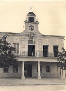 Ayuntamiento de Torrijos. Plaza de España. 1957