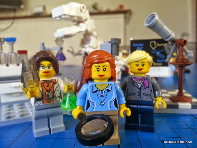 LEGO strong females women scientists