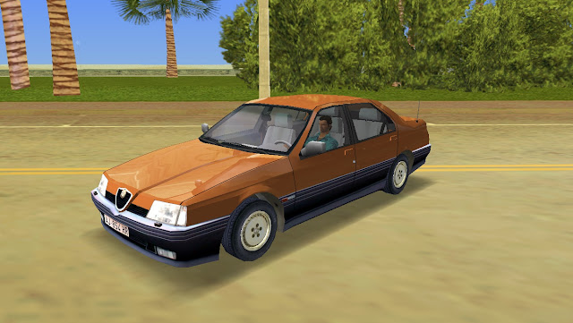 Alfa Romeo 164 - GTA Vice City