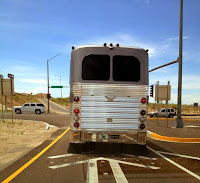 Neil Youngs Tourbus in Albuquerque