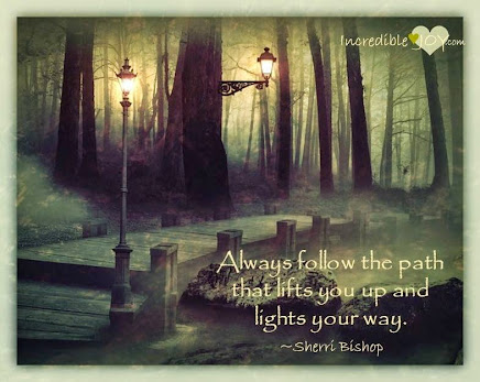 Keep following that LIGHT.