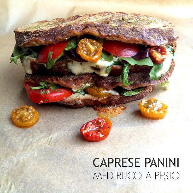 Caprese Panini - Mit livs kogebog