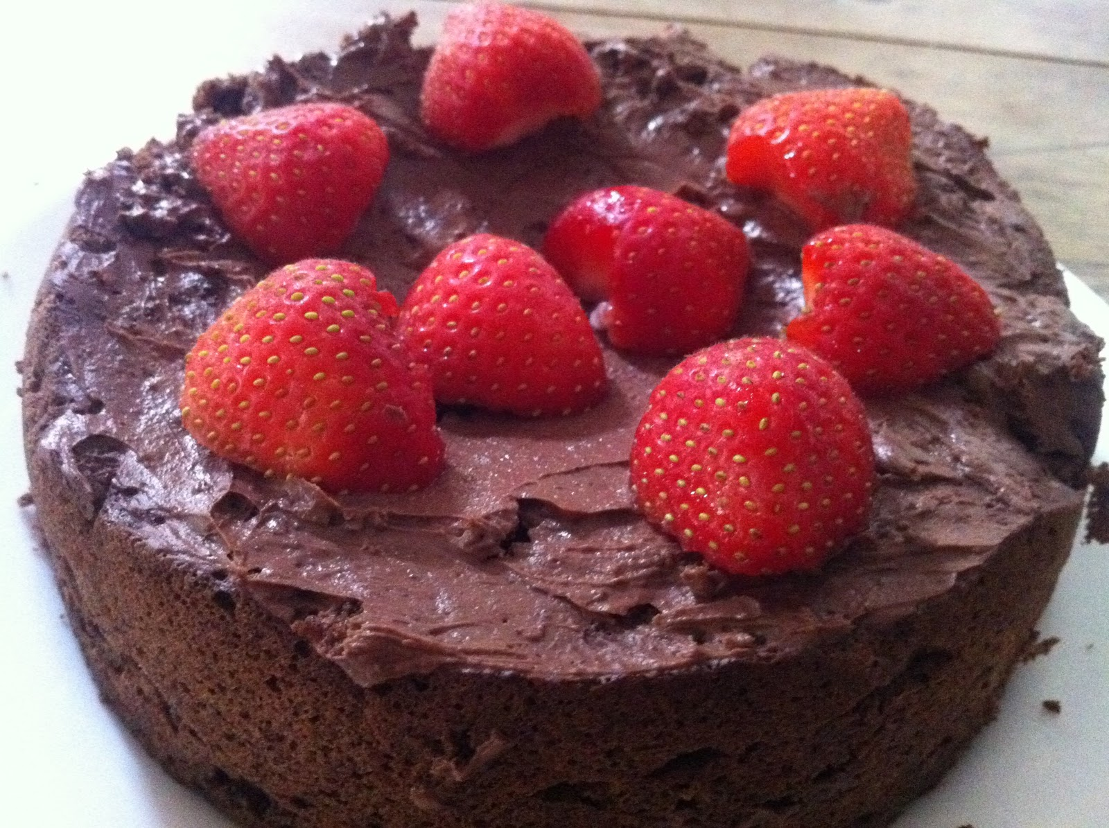 Bakes A Lot Lady N Is For Naughty Chocolate Birthday Cake