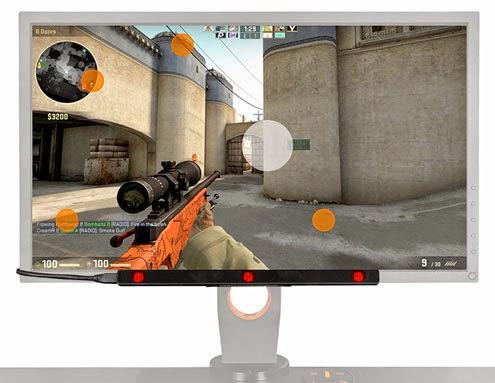Tobii Eye-Gaze technology in gaming.