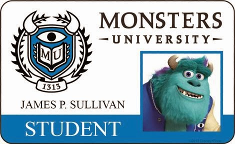 Carnet de Sulli de la Universidad de Monstruos.