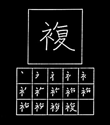 kanji duplikasi