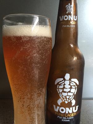Vonu Lager, Beer, Carft Beer, Paradise Beverages, Fiji
