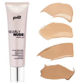 p2 nearly nude makeup