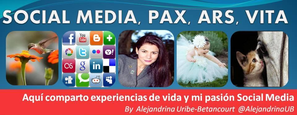 Social Media Pax Ars Vita by Alejandrina Uribe-Betancourt