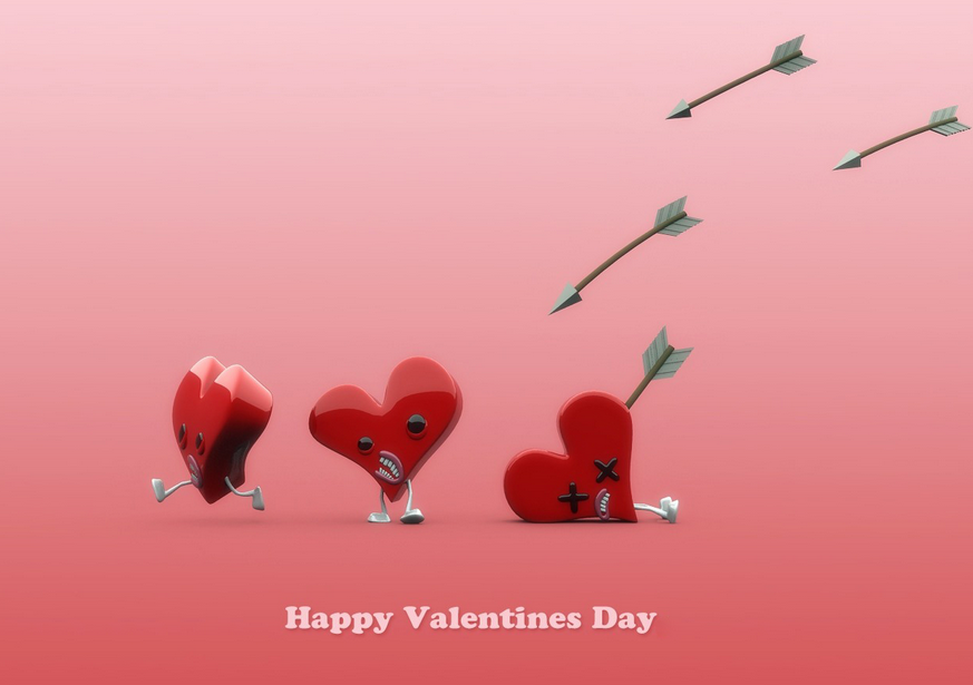 Funny Valentines Day 2014 Wallpapers For Desktop