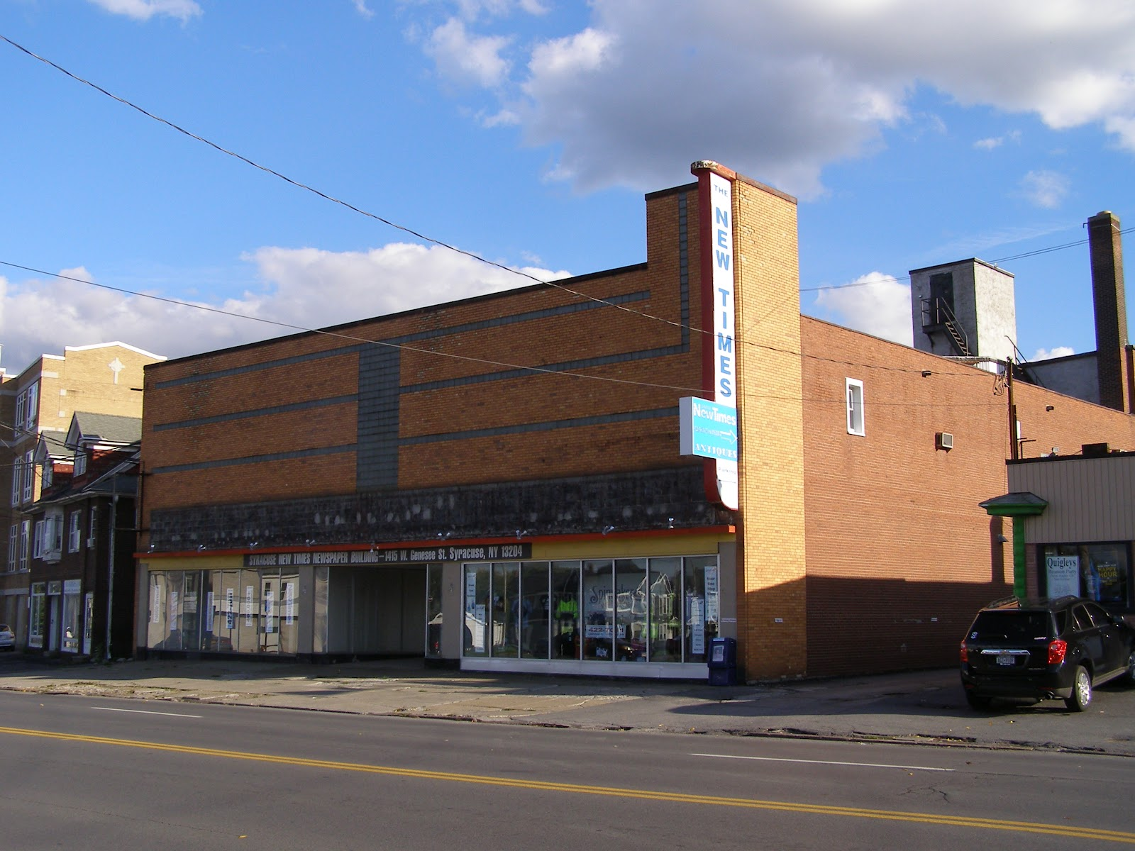 furniture store building. The New Times Building, Formerly Giminski\u0027s Furniture Store: A Fine Example Of Syracuse\u0027s Post (World War II) Modernism Store Building My Central York - Blogger