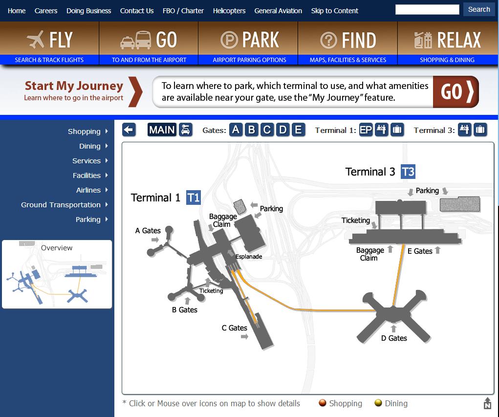 when maps art combine in las vegas the mccarran international airport web portal