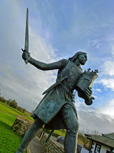 Statue, Edward I, Burgh by Sands, Cumbria