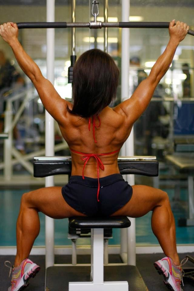 sara picken in the gym