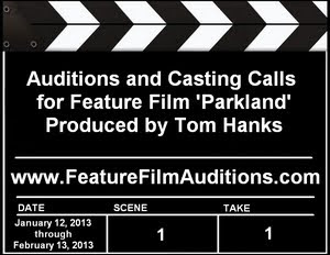 Feature Film Parkland Auditions Casting