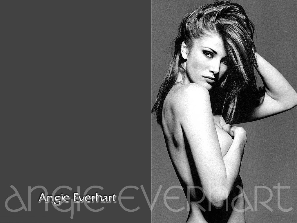 top model cover girl: angie everhart profile