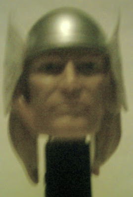 Close up of Thor PEZ face