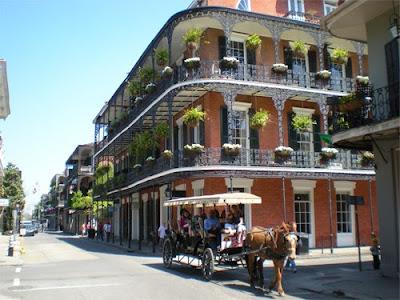 Nueva Orleans barrio francés luisiana estados unidos
