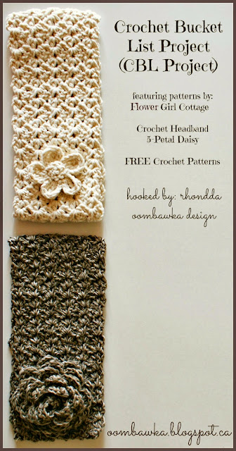 Crochet Rose Embellishment - Oombawka Design - Free Pattern
