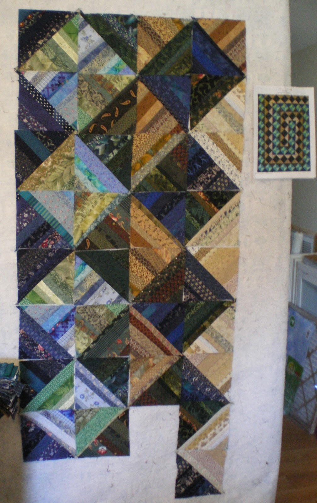 quilt designs by candace design wall monday