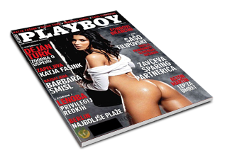 Revista Playboy Eslovênia Setembro 2011