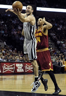 Spurs win over Cavs, 119-113