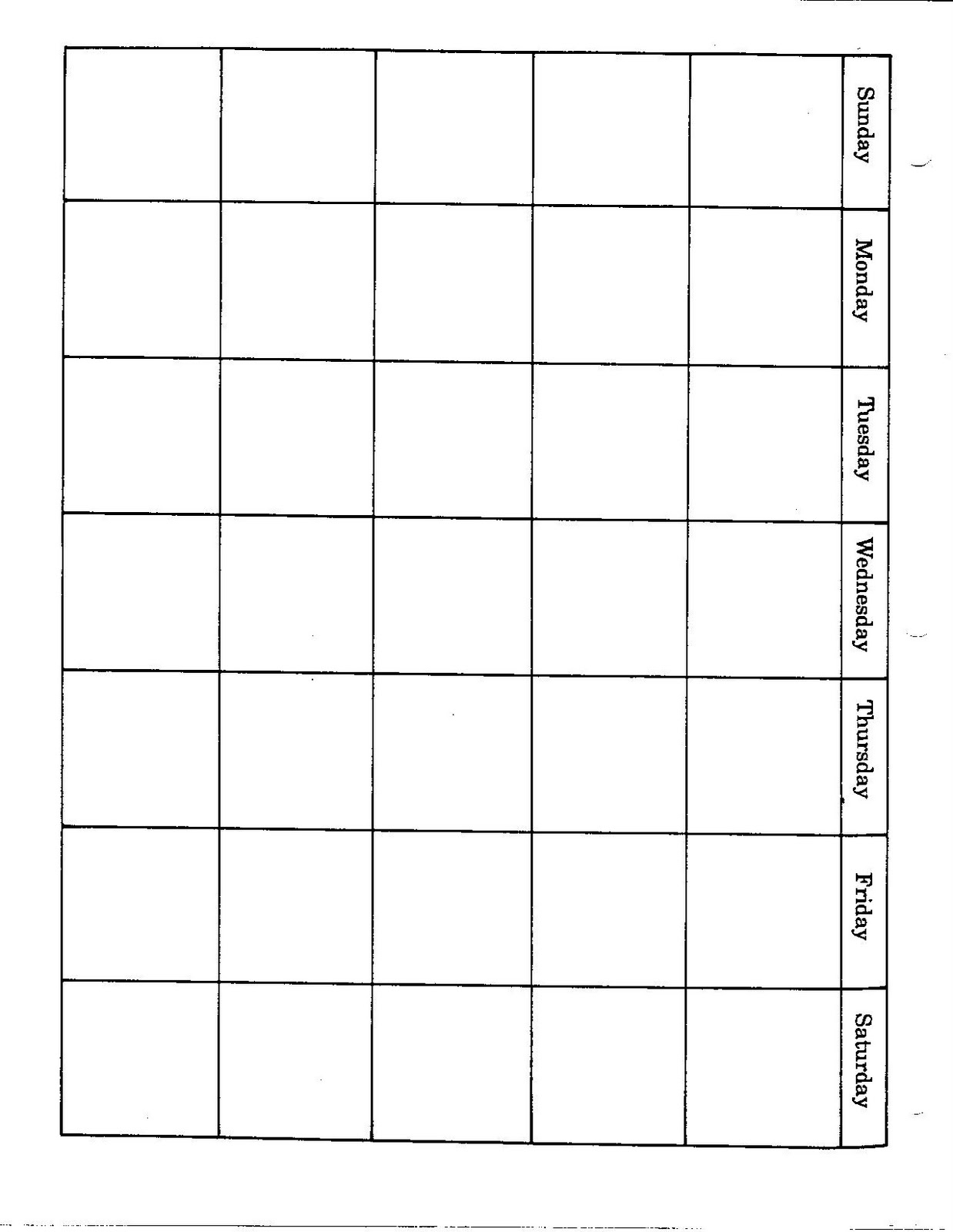 Blank Calendar Page : Connie s file cabinet monthly blank calendar pages for a year