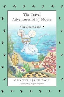 THE TRAVEL ADVENTURES OF PJ MOUSE : queensland cover