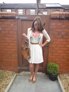 summer dress with blazer, Mulberry Bag, H & M Dress,