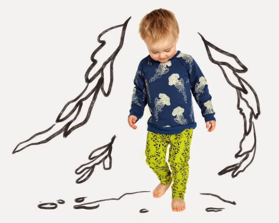 New kidswear brand Izzy & Ferd  AW14 - 20.000 leagues