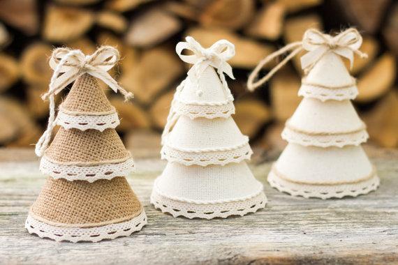 El jardin de los muffins blog de decoraci n vintage y - Adornos de navidad de tela ...