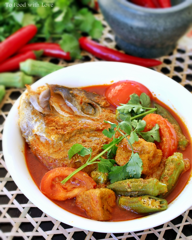 [Malaysian Recipes] Fish Head Curry - All Asian Recipes ...