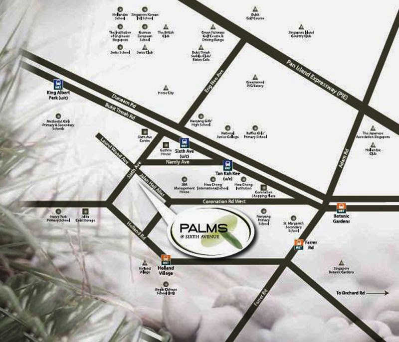 Palms @ Sixth Avenue Location