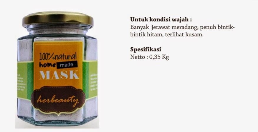 Jual Masker Wajah Herbeauty Homemade Lemon Fusion Pekanbaru