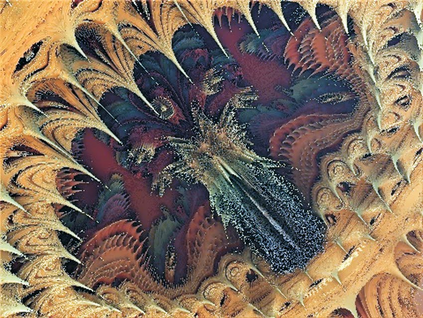 Video ArteFrak Mandelbulb. Pavonia
