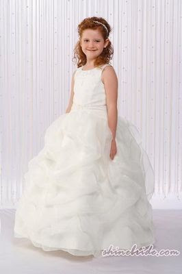 Dress Designs  Girls on Big Wedding Dresses  Kids Bridesmaid Dress Designs Pictures
