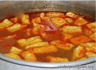 Cách nấu bún ốc chuối đậu ngon tuyệt10
