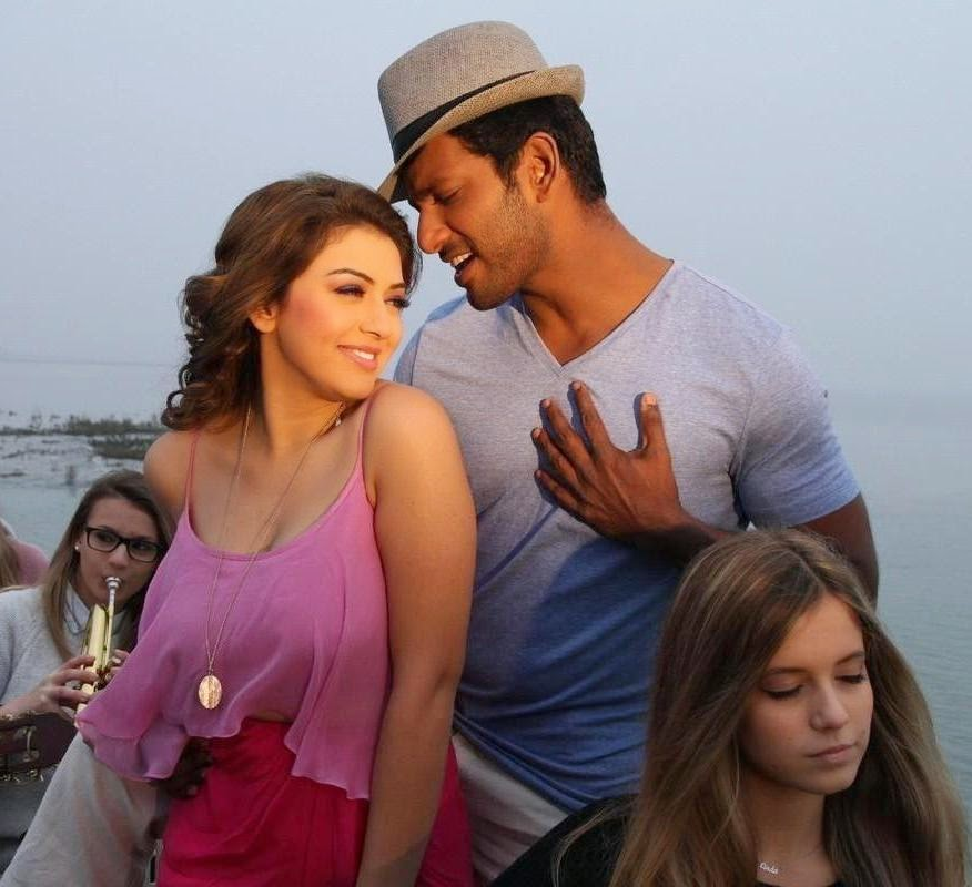 Vishal,Hansika's Aambala movie foreign song pictures