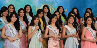 finalis Miss Indonesia 2013
