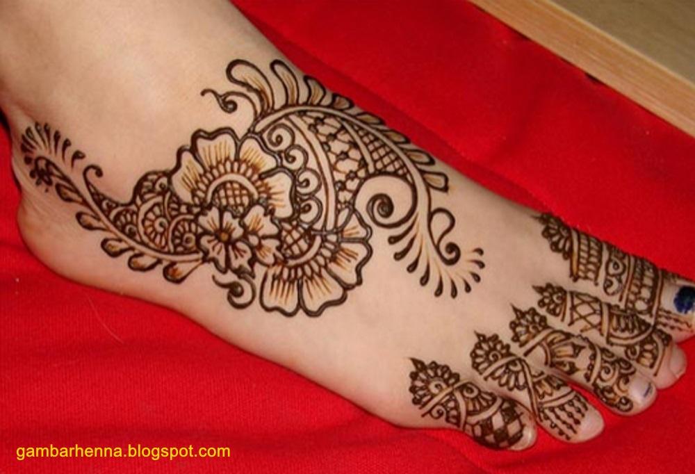 Mehndi Simple Kaki : Henna kaki