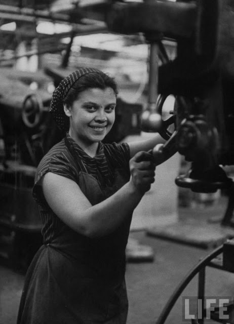 Vintage Everyday Russian Women Of The 1950s