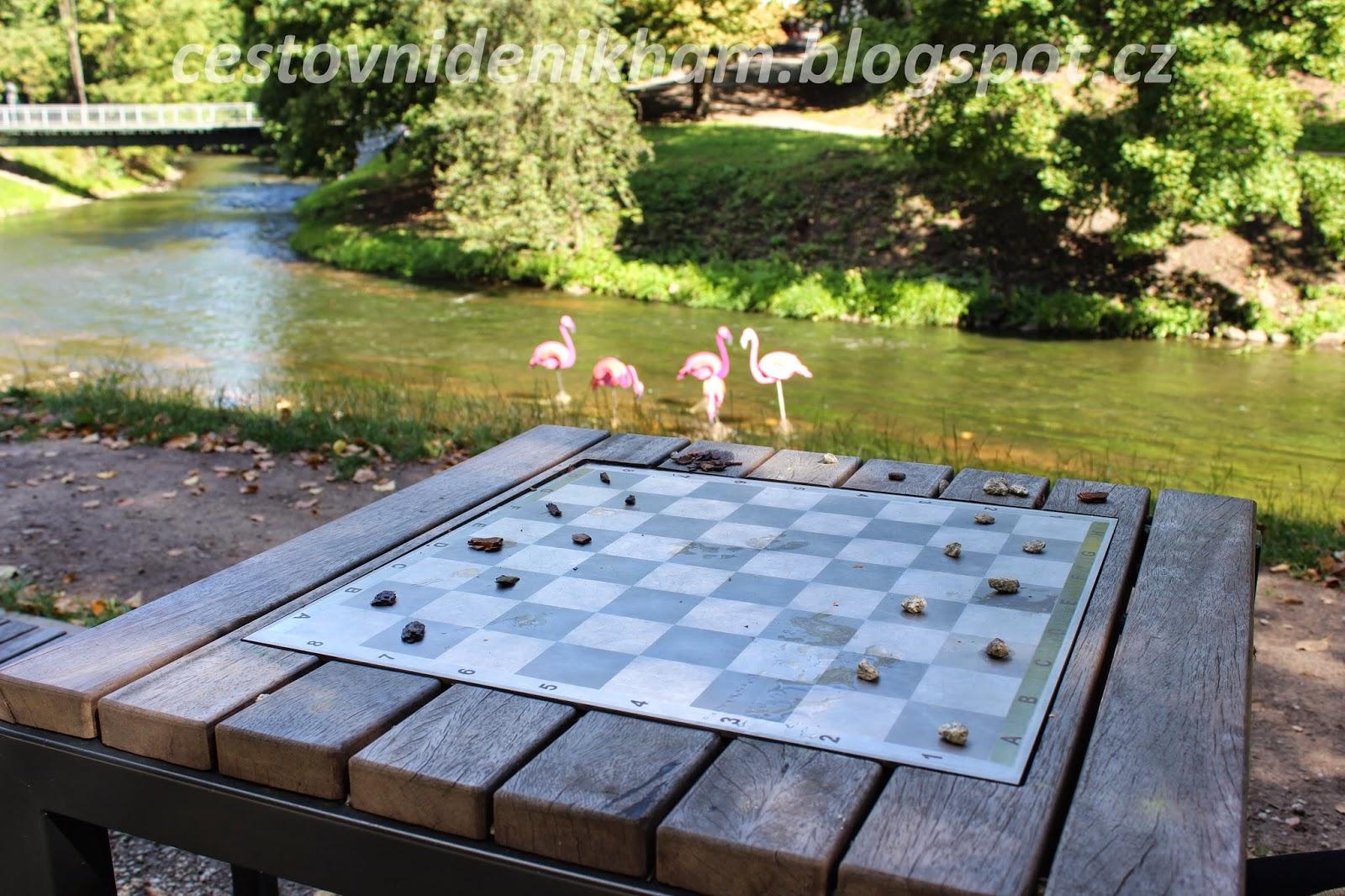 Chessboard in Bernard´s park