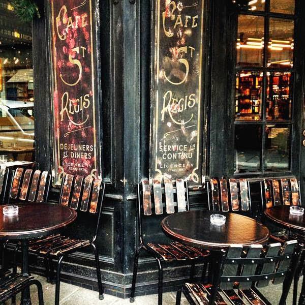 Il café Regis sull'Ile de Saint Louis - foto di Elisa Chisana Hoshi