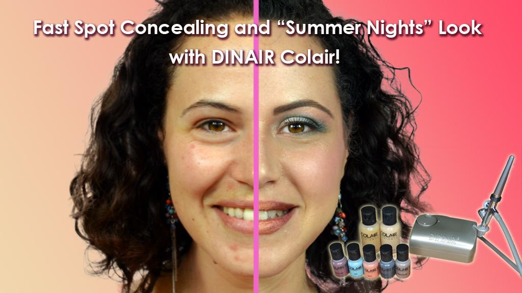 how to use dinair airbrush makeup